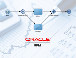 Oracle BPM in financial optimization