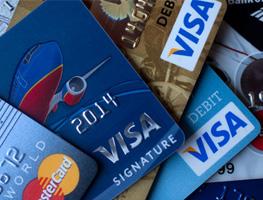 Gestão do cartão de crédito